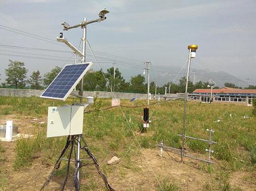 蒸渗与风蚀系统成功应用于北京风沙源育苗中心